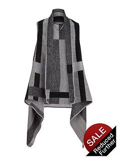 oasis-sleeveless-check-wrap