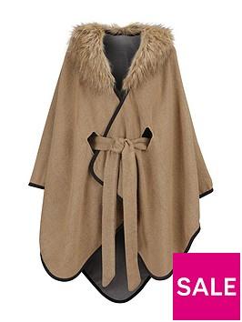 oasis-reversable-belted-fur-collar-wrap