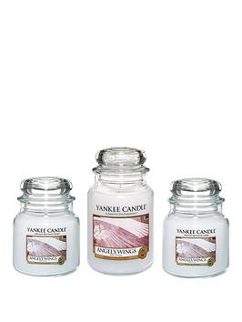 yankee-candle-small-medium-and-large-jar-candle-set-ndash-angelrsquos-wings