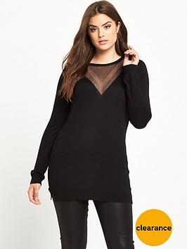 v-by-very-curve-lurex-v-fine-knit-jumper