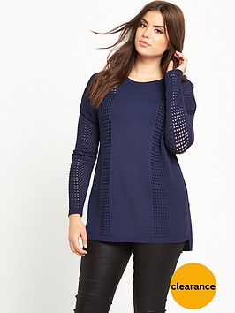 v-by-very-curve-airtexnbspcold-shoulder-fine-knit-jumper-midnight-blue