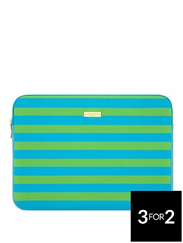 kate-spade-sleeve-for-13-inchnbspmacbooknbsp--bluegreen-stripes