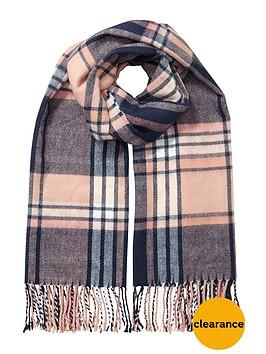 miss-selfridge-check-scarf