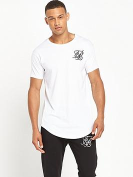 sik-silk-curved-hem-short-sleevenbspt-shirt-white