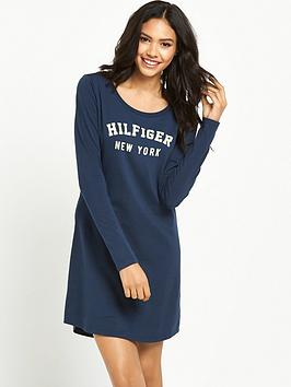 tommy-hilfiger-hilfiger-collegiate-ls-night-dress