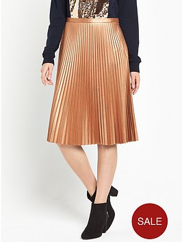 boss-orange-baledina-pleated-skirt-rust-copper