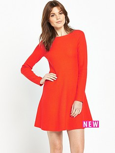 boss-orange-lesibell-dress-bright-red