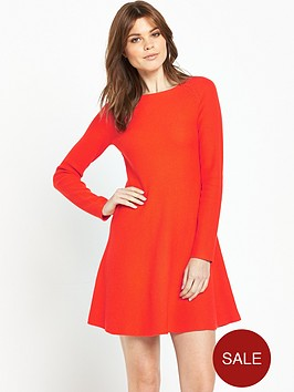 boss-orange-lesibell-dress-bright-red