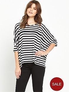 boss-orange-tabig-stripe-top-blackwhite
