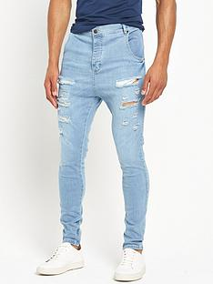 sik-silk-distressed-hareem-skinny-jean--lightwash-blue