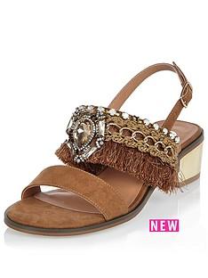 river-island-embellished-fringed-block-heel-sling-back-sandal
