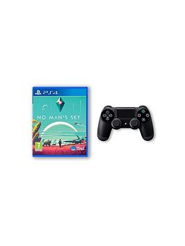 playstation-4-no-manrsquos-sky-and-playstation-4-jet-black-dualshock-4-controller