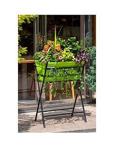 vegtrug-poppy-with-lime-green-felt-plus-10-packets-of-tampm-seeds-worth-pound25