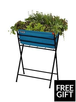 vegtrug-poppy-planter-with-pale-blue-felt-plus-10-packets-of-tampm-seeds