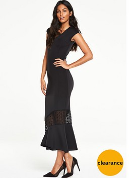 v-by-very-fish-tail-hem-dress