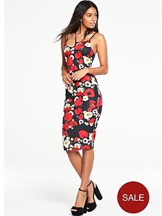 v-by-very-poppy-printed-bodycon-dress