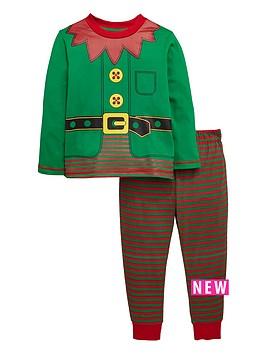 mini-v-by-very-boys-elf-suit-pyjamas