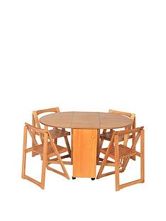 wooden-butterfly-dining-set