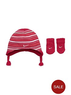 nike-baby-girls-stripe-beanie-mitten-set