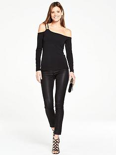 v-by-very-one-shoulder-strappy-bardotnbsptop-with-long-sleevesnbsp