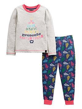 mini-v-by-very-girls-christmas-tree-slogan-pyjamas