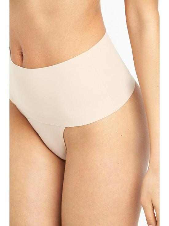 3b7a93818dcd ... Spanx Undie-Tectable Thong - Soft Nude. 5 people have looked at this in  the last couple of hrs.