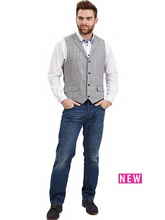 joe-browns-joe-browns-grey-checked-waistcoat