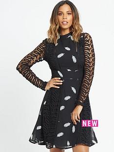 rochelle-humes-guipure-lace-midi-dress
