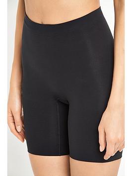 spanx power series power short - very black, black, size xl, women