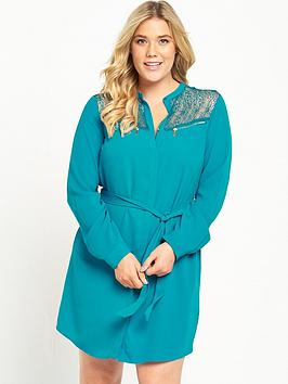 so-fabulous-zip-detail-shirt-dress