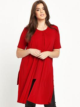 so-fabulous-longline-panel-slinky-jersey-top