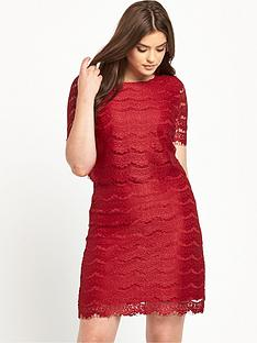 so-fabulous-double-layer-lace-dress-red