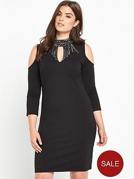so-fabulous-keyhole-embellished-bodycon-dress-black