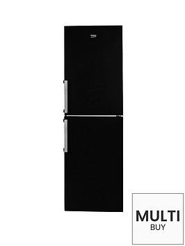 beko-cfp1691b-60cm-frost-free-fridge-freezer-black