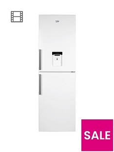 beko-cfp1691dw-60cm-frost-free-fridge-freezer-with-water-dispenser-white