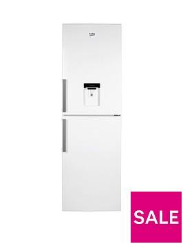beko-cfp1691dw-60cm-frost-free-fridge-freezer-with-water-dispenser-white