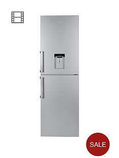 beko-cfp1691ds-60cm-frost-free-fridge-freezer-silver