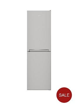 beko-cfg1582s-55cm-frost-free-fridge-freezer-next-day-delivery-silver