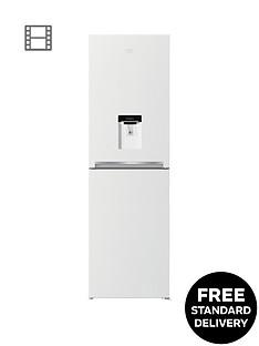 beko-cfg1582dw-55cmnbspwide-frost-free-fridge-freezer-with-water-dispensernbsp--white