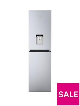 beko cfg1582ds 55cm frost free fridge freezer with water. Black Bedroom Furniture Sets. Home Design Ideas
