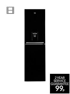 beko-cfg1582db-545cm-frost-free-fridge-freezer-with-water-dispenser-black