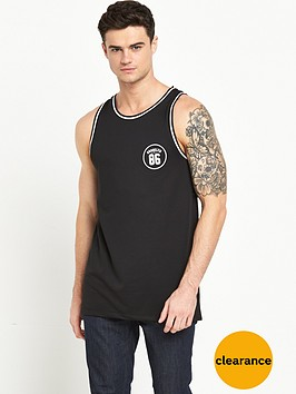 river-island-mesh-sports-tipped-vest