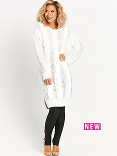 myleene-klass-cable-knit-front-dress-cream
