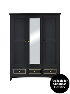 penthouse-3-door-3-drawer-mirrored-wardrobe