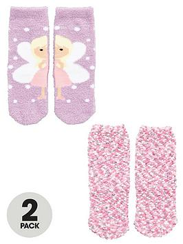mini-v-by-very-girls-fairy-and-popcorn-cosy-socks-2-pack