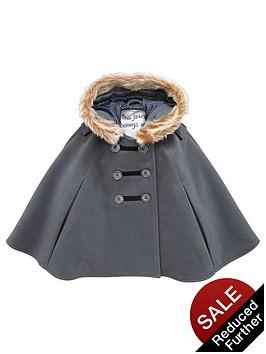 mini-v-by-very-girls-charcoal-faux-fur-trim-cape