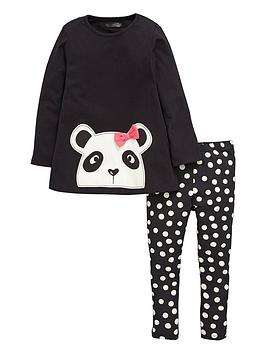 mini-v-by-very-girls-panda-tunic-and-spot-leggings-set