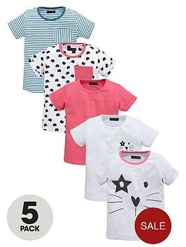 mini-v-by-very-girls-cat-sketch-t-shirts-5-pack