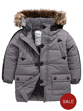 mini-v-by-very-boys-pu-trim-longlinenbsppadded-coat