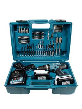 makita-g039-series-144v-cordless-combi-drill-charger-2-x-batteries-74pc-accesory-set-included